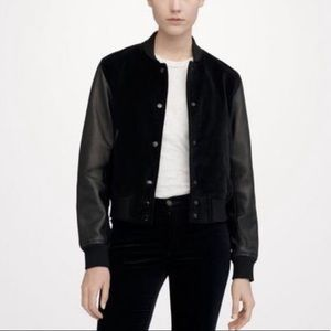 Rag & Bone • Lamb Leather Camden Jacket